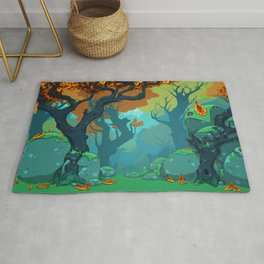 End of Fall Rug