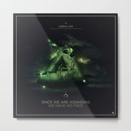 Since we are Assassins Ep Cover Metal Print