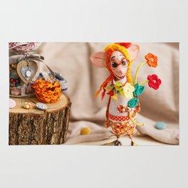 Flower Lady Rug