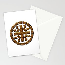 Really Big Moth Symbol Stationery Cards