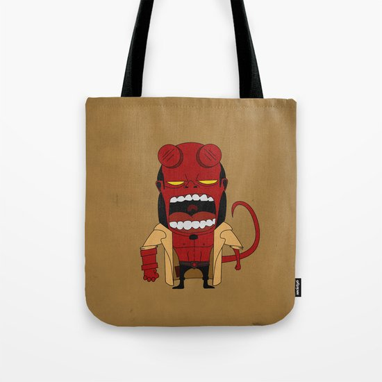 Screaming Helldude Tote Bag