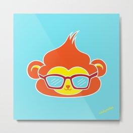 Cool Vibes Monkey Metal Print