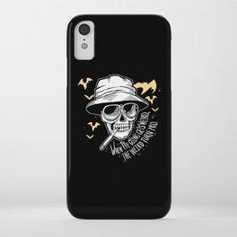 Weird Pro - Black iPhone Case