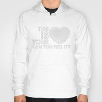 laura palmer Hoodies featuring Bastille - Laura Palmer #4 (This Is Your Heart, Can You Feel It?) by Thafrayer