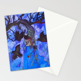 Ravenwitch - Shades of Blue Stationery Cards