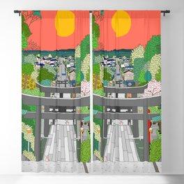 Passage to Light - Miyajidake Shrine Blackout Curtain