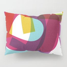 Crossletters Patterns Pillow Sham