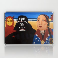 The Devil, Darth vader and Indian Chief Laptop & iPad Skin