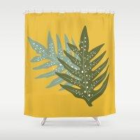fern Shower Curtains featuring Fern by CaptainChrisP