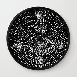 crop circles Wall Clock
