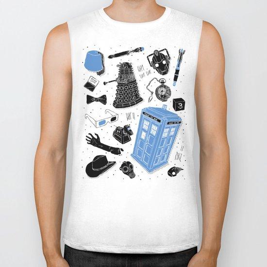 Artifacts: Doctor Who Biker Tank