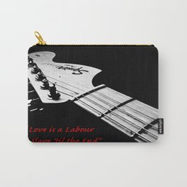 """""""Swing Life Away"""" Rise Against Lyrics with Guitar Carry-All Pouch"""