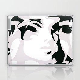 Hidden Faces Laptop & iPad Skin