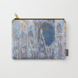 1894-Claude Monet-Rouen Cathedral, West Façade-65 x 100 Carry-All Pouch