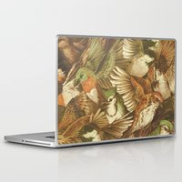 tree Laptop & iPad Skins featuring Red-Throated, Black-capped, Spotted, Barred by Teagan White