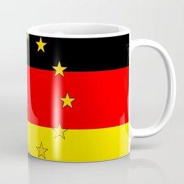 German European Union Flag Coffee Mug