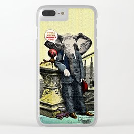 I Will Never Forget You! Clear iPhone Case