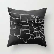 Ride Statewide - USA Throw Pillow