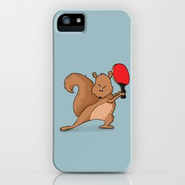 Talented Squirrel iPhone Case