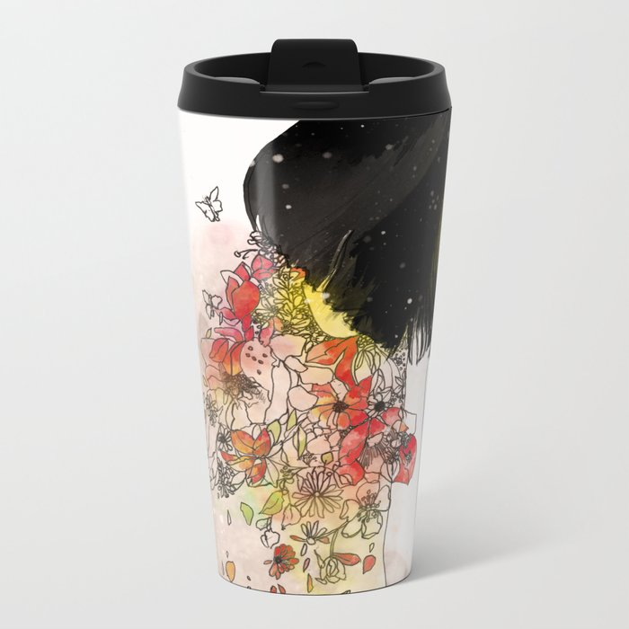 you can only give so much Metal Travel Mug