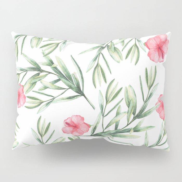 Delicate Hibiscus Pillow Sham