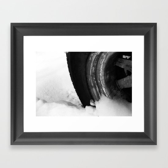 Snowbound Framed Art Print