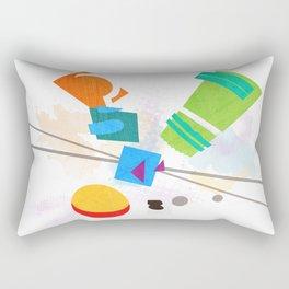 Rocko's Modern Art Rectangular Pillow