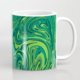 Toxic green mable Coffee Mug