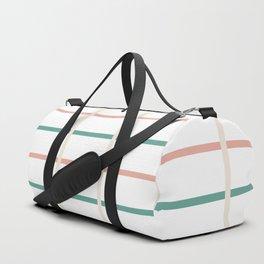 Minimal lines- vertical and horizontal Duffle Bag