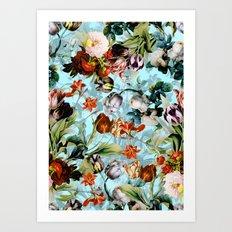 SUMMER BOTANICAL VI Art Print