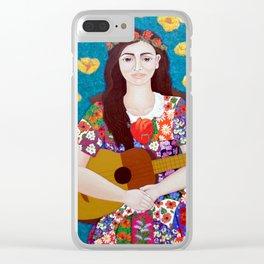 Violeta Parra -The gardener Clear iPhone Case