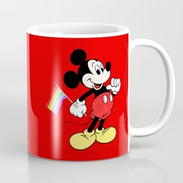 Mickey Mouse - Gay Pride - Gay Days - Pop Art Coffee Mug