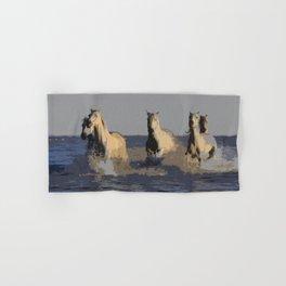 Horses of the Sea - Wild Horses Hand & Bath Towel