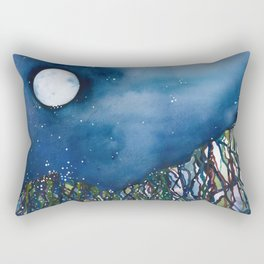 Dripping Mountain Rectangular Pillow