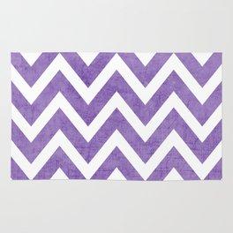 purple chevron Rug