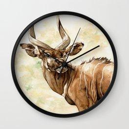 Africa01 Wall Clock