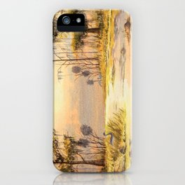 Southern States Sunrise iPhone Case