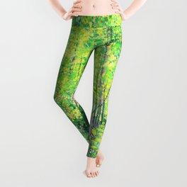 Vincent Van Gogh Trees & UnderwooD Leggings