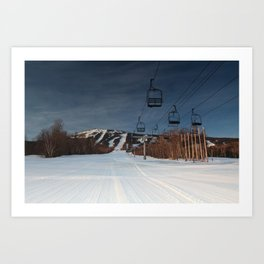 A Sugarloaf Sunrise  Art Print