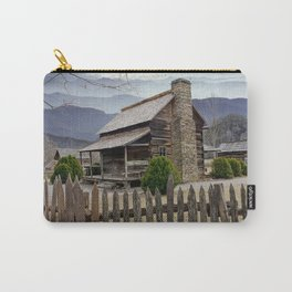 Appalachian Mountain Cabin Carry-All Pouch