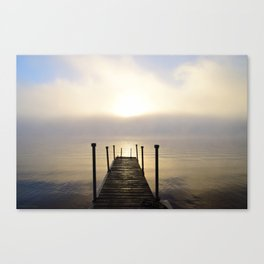 Into the Light: Sunrise, First Full Day of Fall Canvas Print