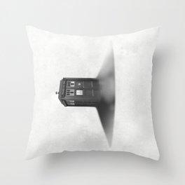 TARDIS Sound Barrier Throw Pillow