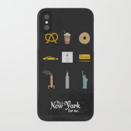 """This is New York for me. """"All"""" iPhone Case"""