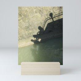 Falling into the Water #moods #buyartprints #society6 Mini Art Print