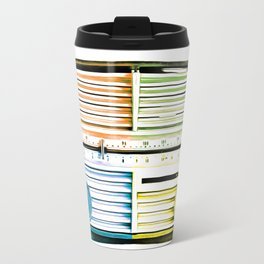 Vintage Radio Pop Art Travel Mug