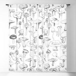 The mushroom gang Blackout Curtain