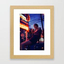 L A L A - F O U R Framed Art Print