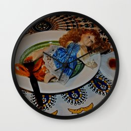 Dinner is served Wall Clock
