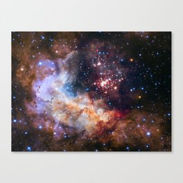 Hubble 25th Anniversary Image Canvas Print