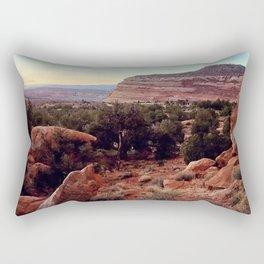 Home Rock Rectangular Pillow